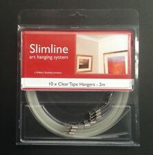 Clear Tape Droppers- Slimline Art System-Picture Hanging System - GSL.CTHAN