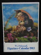 "Goebel Hummel Kalender Calendar 1983, USA-Version, Titelbild ""Umbrella Girl"""