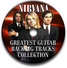 46 NIRVANA STYLE ROCK METAL GRUNGE GUITAR MP3 BACKING TRACKS CD LIBRARY