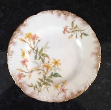 """Royal Crown Derby Hand Painted Cabinet Plate Date 1893 Vgc 8.5"""""""