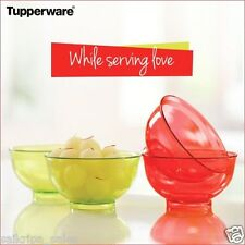 TUPPERWARE DESSERT BOWLS (250ml) - 4pcs