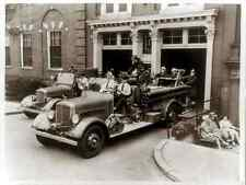 18-Fire-Fighting-Fire-Engines-Engine-Co-1-Washington-DC1942-vintage-Photo-Print-
