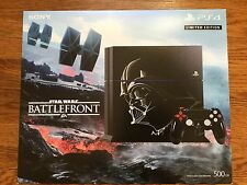 NEW Sony PlayStation 4 Star Wars Darth Vader Limited Edition Bundle PS4 System