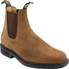 Blundstone 064 Crazy Horse Leather Slip On Ankle Chelsea Dress Boots Men's 9.5