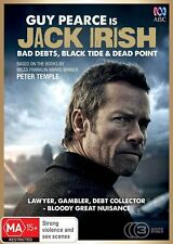 JACK IRISH : THE MOVIE COLLECTION (3 movies)  -  DVD -UK Compatible sealed