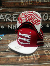 "Detroit Red Wings Zephyr ""Lacer Locker Room"" NHL Adjustable Snapback"