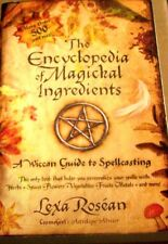 Encyclopedia Witchcraft Magic Secret Occult Witch Magic Herb Spice Spell Guide X