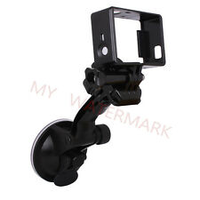 Car Sucker Arm Cup Windshield+Standard Frame Mount for GoPro HERO 3 3+ 4 Camera