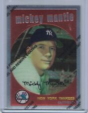 1996 Topps Mantle Finest MICKEY MANTLE #9 (1959 Topps)  (B2143)