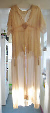 Antique Victorian Tassel Dress Nightgown Wedding Night Negligee  Provenance 1917