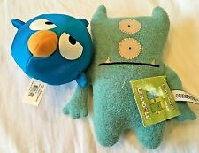 Ugly Doll and Angry Bird plush toys