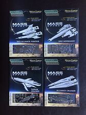 Fascinations Metal Earth 3D Model Kits- Dark Horse Mass Effect Set of 4 Bioware