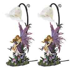 Fairy Purple Table Night Lamp New Side Table Centre Piece Free Set Of 2 Lamps