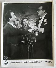 AF /lobby card  Gestatten, mein Name ist Cox  Johannes Heesters, Claude Borelli