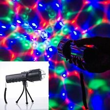 Weanas Hand Stage Light LED RGB Disco Flashlight 3 Color DJ Party Show Lighting