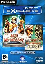 Age of Mythology Gold Edition with Titans Expansion Pack PC Brand New Sealed