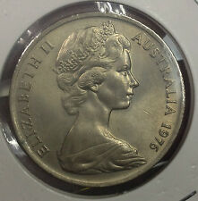 1976 Australia 20 cents coin very high grade/lustra  scare!