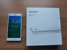 Sony Smartphone Xperia Z3 Compact weiss D5803 Sim-Lock-frei OVP