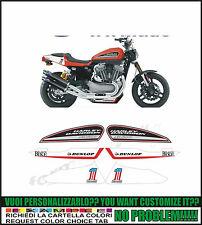 kit adesivi stickers compatibili davidson xr 1200 x replica trophy