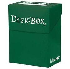 Porta Mazzo Ultra PRO Magic Standard GREEN Deck Box Verde Scatola MTG