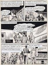 BOB LEGUAY REPORTAGE SUR LA PRESSE PLANCHE TIM L'AUDACE ARTIMA PAGE 4
