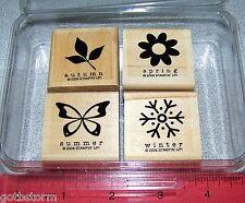 Stampin Up Perennial Favorites Stamp Set Spring  Summer  Autumn  Winter Seasons
