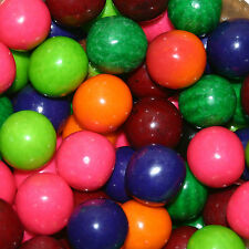 Dubble Bubble 6 Flavor Fruit Mix Gumballs 23mm 3lbs Approximately 200 Gum Balls