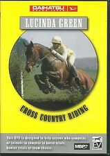 LUCINDA GREEN CROSS COUNTRY RIDING DVD - HORSE TRIALS