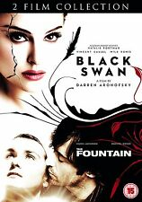 Black Swan / The Fountain (DVD, 2012, 2-Disc Set) FREE SHIPPING