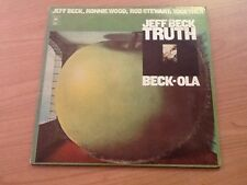 DLP JEFF BECK RONNIE WOOD ROD STEWART TRUTH BECK-OLA BG 33779 VG/EX USA 1975 BXX