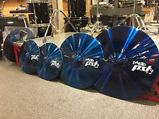 Paiste Custom Shop Blue PST7 Cymbal Pack 20-18-14pr....WOW! $579.99