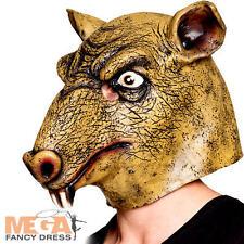 Rat latex masque déguisement souris rongeur animal halloween adulte costume accessoire