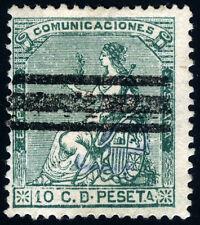 ESPAÑA 133 FALSO POSTAL ALEGORIA DE ESPAÑA TIPO XII