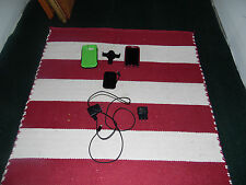 Samsung Galaxy S3 cases(2), Samsung chargers(2), Tmobile portable charger(1)
