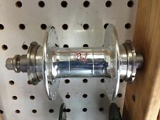 PHILLWOOD track hub Rear Double Fixed;2 Lockring Silver color high flange 32Hole