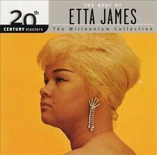 FREE US SH (int'l sh=$0-$3) NEW CD Etta James: 20th Century Masters: The Best of