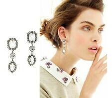 E475 Betsey Johnson Brides Bridesmaid Wedding Accessories Gem Earrings US