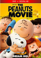PEANUTS MOVIE (DVD, 2016, Includes Digital Copy) NEW