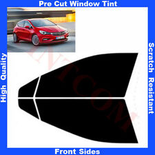 Pre Cut Window Tint Opel Astra K 5 Doors Hatchback 2015-.. Front Sides AnyShade
