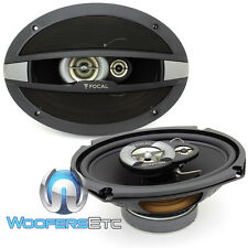 "FOCAL AUDITOR R-690C CAR 6""X9"" COAXIAL 320W MAX 3-WAY SPEAKERS BUILT IN TWEETERS"