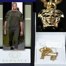 GIANNI VERSACE Men's GOLD MEDUSA BRACELET w/ Box, Tag & Certificate