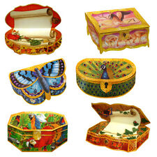 36 Butterfly and Exotic Birds Trompe-l'oeil Box Greeting Cards