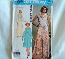 Vintage Simplicity Women's Dresses size 14  Sewing Pattern No 7794