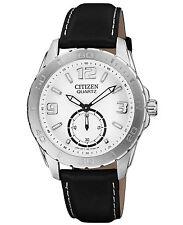 New Citizen  White Dial Men's Watch - AO3010-05A