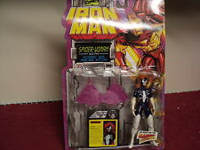 """Toy Biz Iron Man Spider woman 5""""  with accessories   1994 production"""