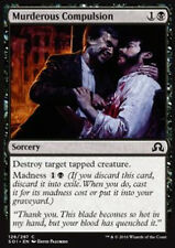 MTG 4x MURDEROUS COMPULSION - IMPULSO OMICIDA - SOI - MAGIC
