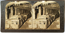 Keystone Stereoview of Electric Motors in a Coal Mine in PA from 1930's T600 Set