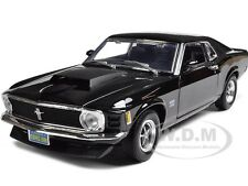 1970 MUSTANG BOSS 429 BLACK 1:18 DIECAST MODEL CAR BY MOTORMAX 73154