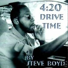 [P-Funk Vocalist] STEVE BOYD - 420 DRIVE TIME _AUDIO CD