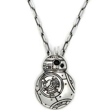 $55.00 Han Cholo x Star Wars BB8 Pendant Necklace silver HCSWP63SIL